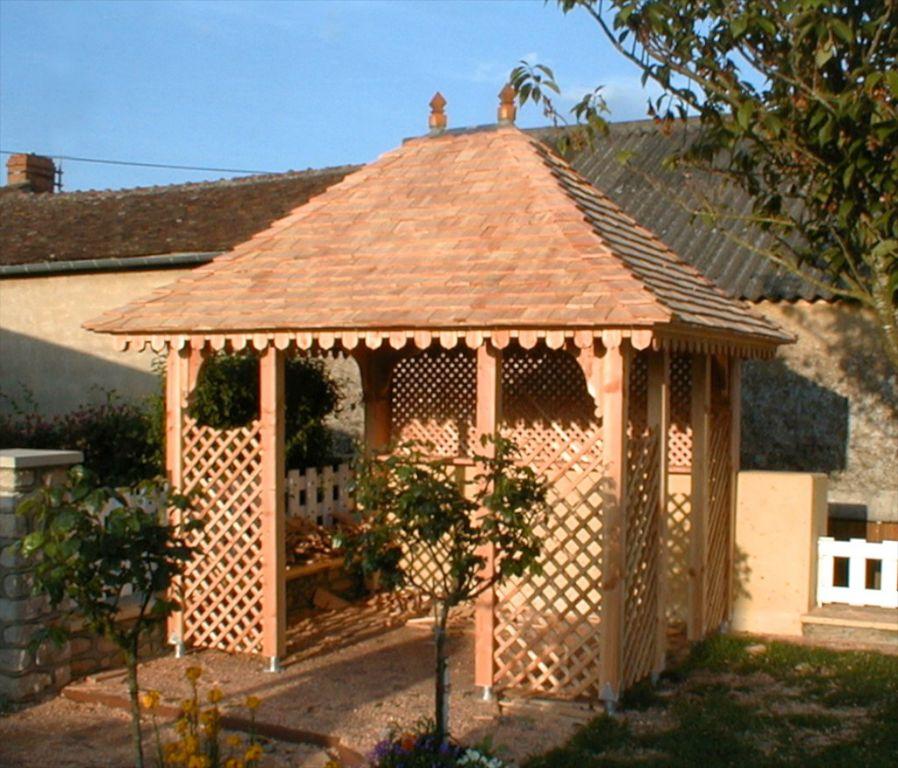 gloriettes chalets abris d 39 agr ment soci t trefibois. Black Bedroom Furniture Sets. Home Design Ideas