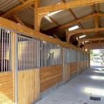 Barn's vue interieure