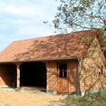 Garage + Abri de Jardin couvert Tuiles de pays
