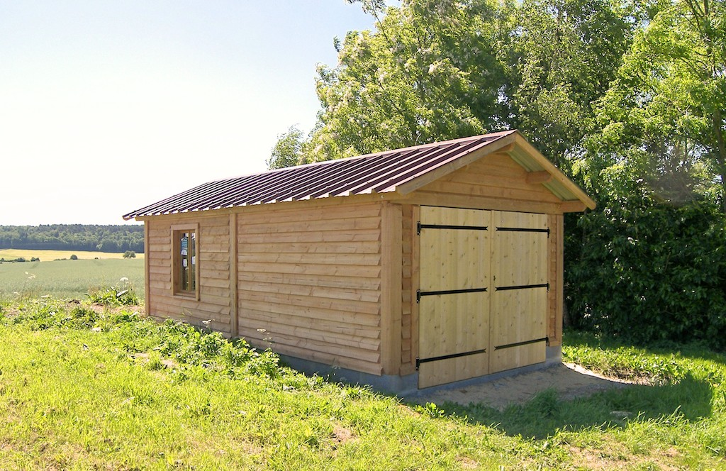 Garages soci t trefibois for Garage 2 pans