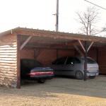 Garage sur Poteaux enterres