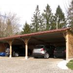 Garage 13x5m avec Auvent