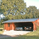Garage + Abri de jardin