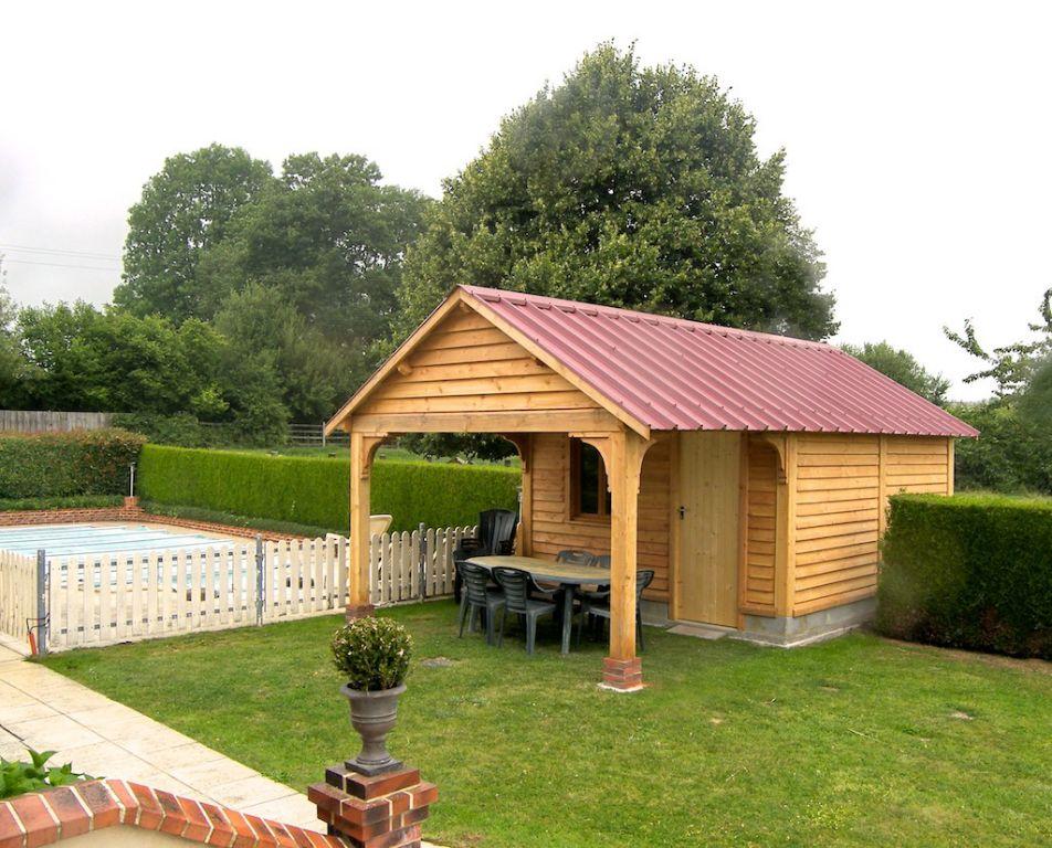 abris de jardin chalets terrasses soci t trefibois. Black Bedroom Furniture Sets. Home Design Ideas