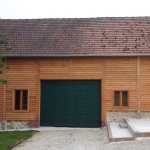 Garage-atelier en extension