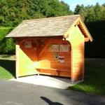 Abri pour aire de camping car